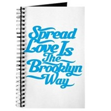 Brooklyn Love Blue Journal