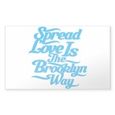 Brooklyn Love Blue Decal
