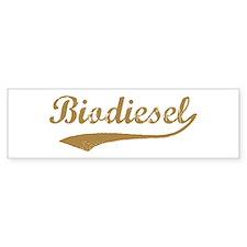 Brown Vintage Biodiesel Bumper Bumper Sticker