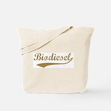 Brown Vintage Biodiesel Tote Bag