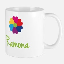 Ramona Valentine Flower Small Mugs