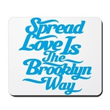 Brooklyn Love Blue Mousepad