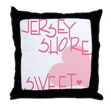 Funny Dj logo Throw Pillow