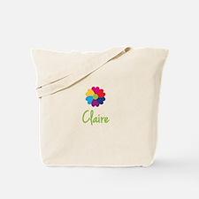 Claire Valentine Flower Tote Bag