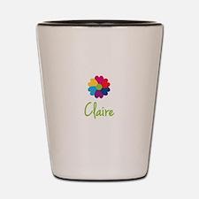 Claire Valentine Flower Shot Glass