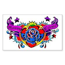 Maison Celeste Tattoo Rectangle Decal