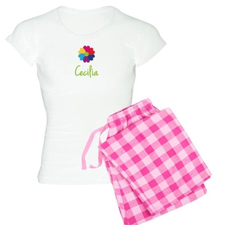 Cecilia Valentine Flower Women's Light Pajamas