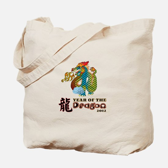 Chinese New Year of Dragon 20 Tote Bag