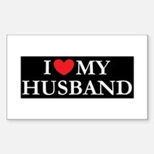 I love my husband Decal
