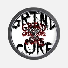 Grind Core Wall Clock