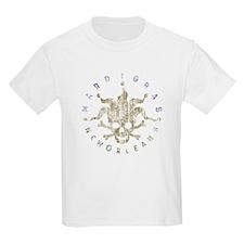 Mardi Gras Jester Pirate T-Shirt