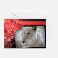 Single Romantic Card w/o Text - Sheila