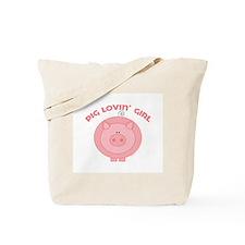 Pig girl Tote Bag