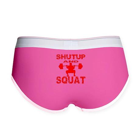 Shut Up And Squat Women's Boy Brief