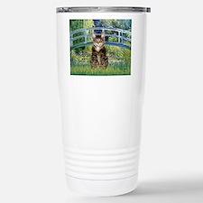 Bridge / Brown tabby cat Stainless Steel Travel Mu