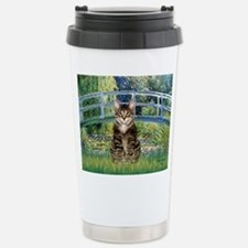 Bridge / Brown tabby cat Travel Mug