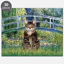 Bridge / Brown tabby cat Puzzle