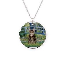 Bridge / Brown tabby cat Necklace