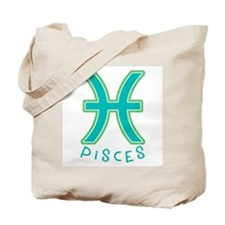 Zodiac Pisces Tote Bag