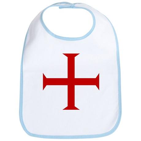 Flag of The Knights Templar Bib