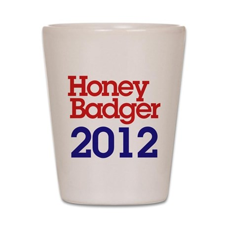 Honey Badger 2012 Shot Glass