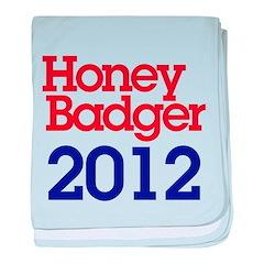 Honey Badger 2012 baby blanket