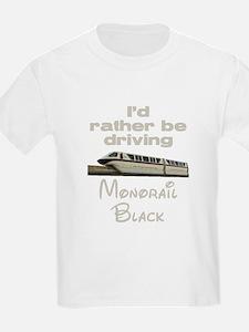 Monorail Black T-Shirt