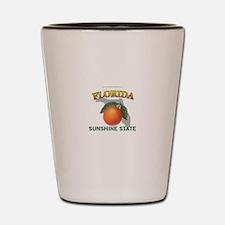Florida Sunshine State Shot Glass