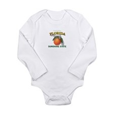 Florida Sunshine State Long Sleeve Infant Bodysuit