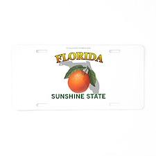 Florida Sunshine State Aluminum License Plate