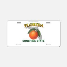 Florida Sunshine State Aluminum License Plate