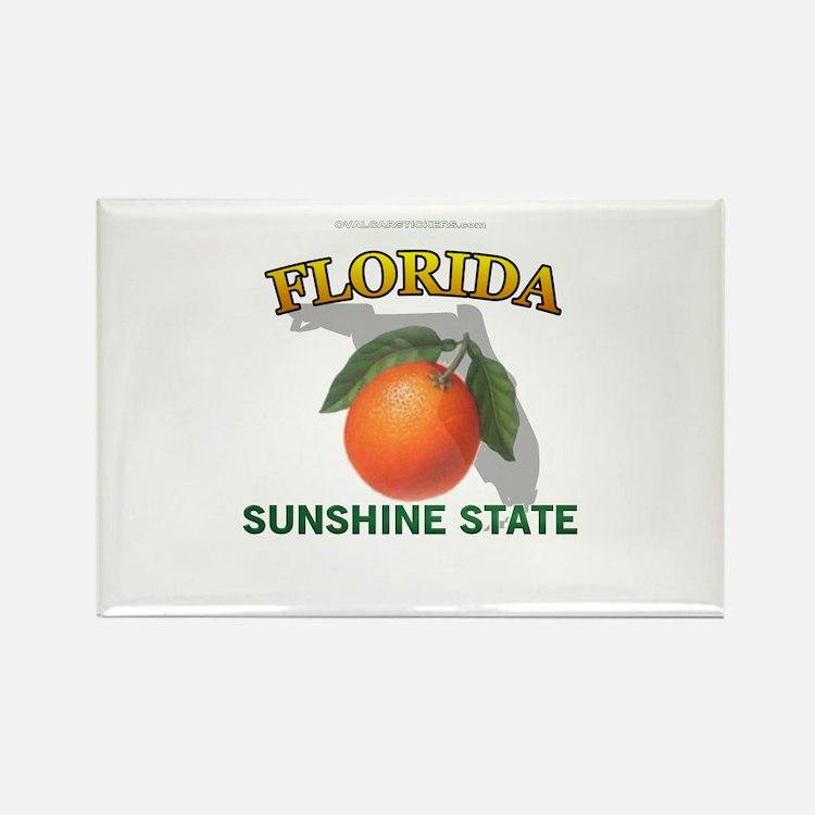 Florida Sunshine State Rectangle Magnet