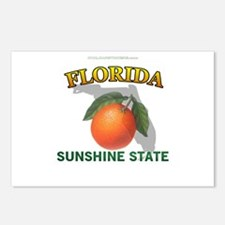 Florida Sunshine State Postcards (Package of 8)