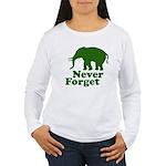 Never forget Women's Long Sleeve T-Shirt