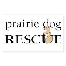 prairie dog RESCUE Decal