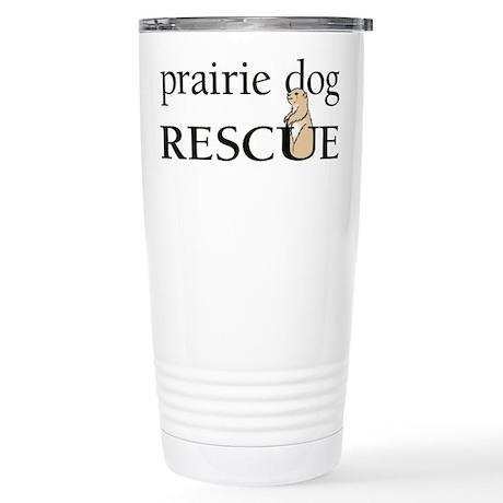 prairie dog RESCUE Stainless Steel Travel Mug