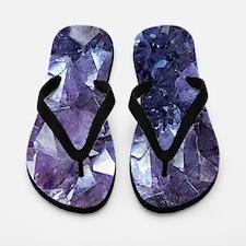 Amethyst Flip Flops