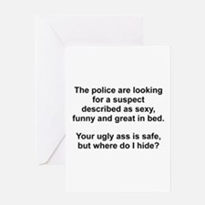 Police Suspect Greeting Card