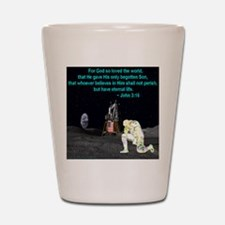 Moonbowing John 3:16 Shot Glass