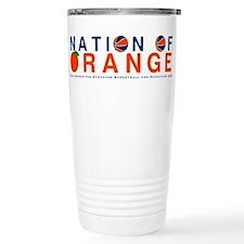 Cute Orange Travel Mug