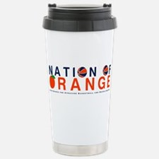 Unique Syracuse orange Travel Mug