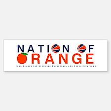 nationoforange1 Bumper Bumper Bumper Sticker