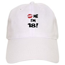 Kiss Me I'm 18 Baseball Cap