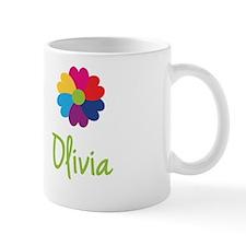 Olivia Valentine Flower Small Mugs