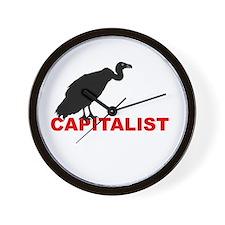 vulture capitalist Wall Clock