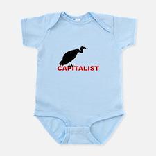 vulture capitalist Infant Bodysuit