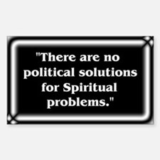 Spiritual Problems - Decal