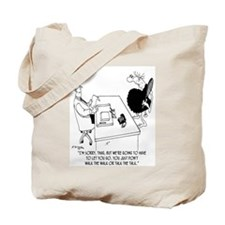 Caveman Doesn't Walk the Walk Tote Bag