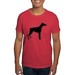 Doberman Pinscher Silhouette Dark T-Shirt