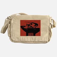 Stylish Hammer & Sickle Messenger Bag
